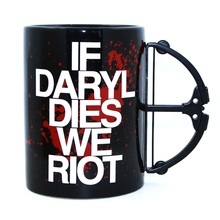 Buy Free 1Piece Daryl Dixon Daryl Dies Riot Crossbow Porcelain Coffee Mug Crossbow Handle Blood Cup for $15.77 in AliExpress store