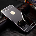 Phone Cases For Apple Iphone 7 Aluminum Mirror Sliver Case Cover Ultra Silm Luxury Ultra Thin