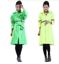 Damenmode Regenmantel beiläufigen frauen fahrt regenmantel graben reflektierende linie Regen getriebe für frauen einzelne person tragen C91705(China (Mainland))