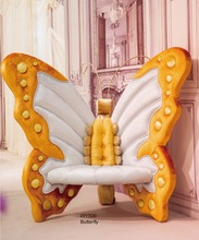 European Style Luxury Butterfly Chair Kid Seat Bedroom Furniture(China (Mainland))