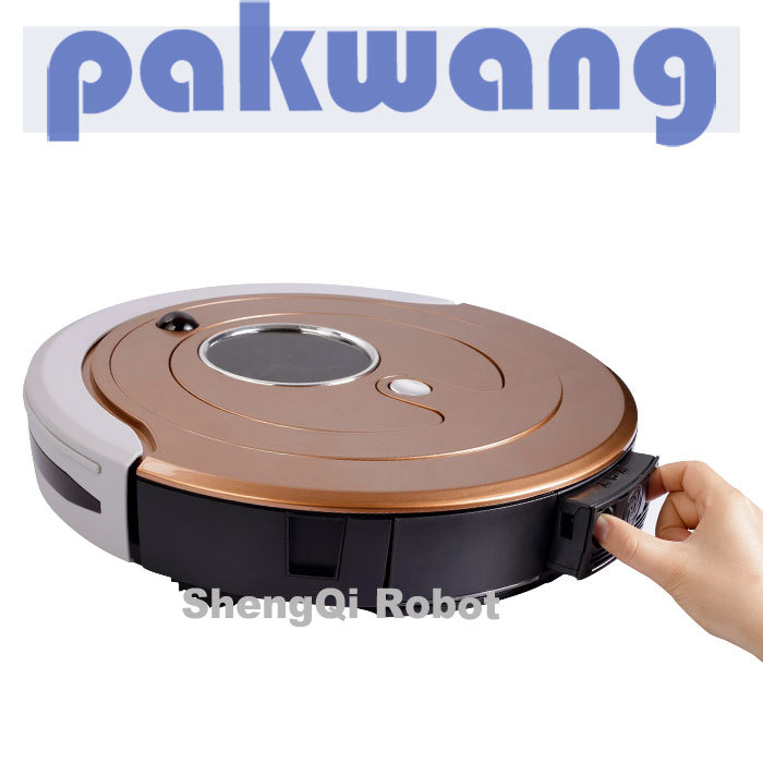 Intelligent robot vacuum cleaner fully-automatic charge household robot mute rainbow vacuum cleaner(China (Mainland))