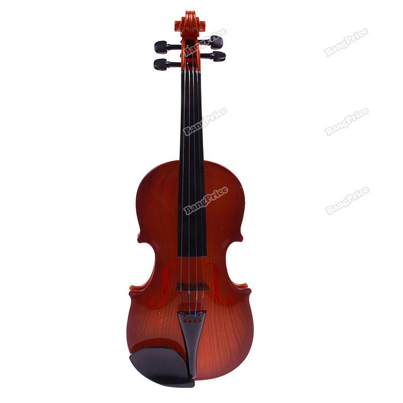 loveygood new Children Kids Beginners Instrument Adjust String Simulation Violin Musical Toy Newly!!(China (Mainland))