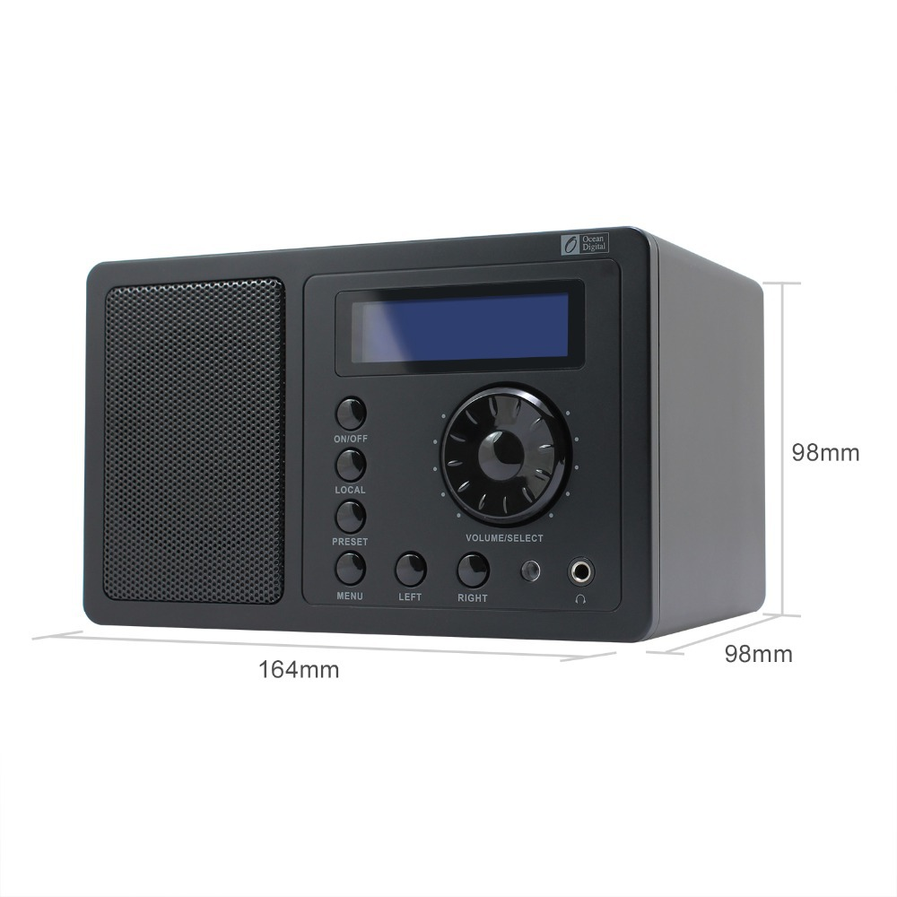 radio alarm picture more detailed picture about ocean digital internet radio alarm clock with. Black Bedroom Furniture Sets. Home Design Ideas