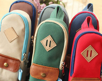 AW0- Wholesale free shipping 20*7cm big volume 6 colors penci bag case(1piece)(China (Mainland))
