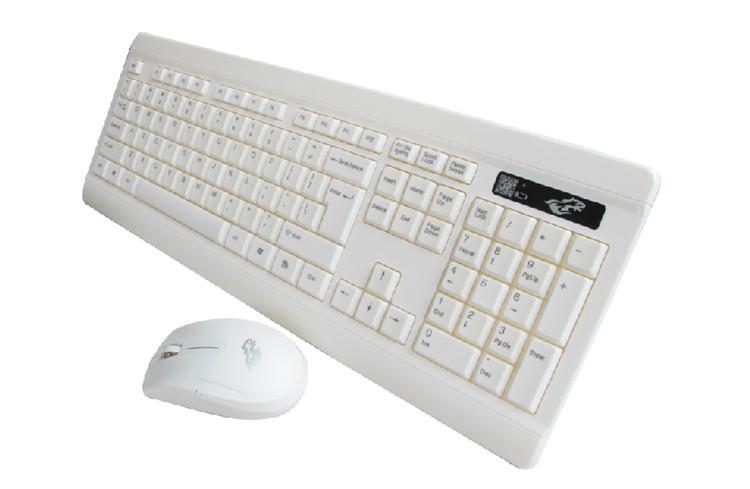 Name mink ultra-thin wireless keyboard and mouse set mute chocolate Universal Keyboard Kit Apple style -W-001(China (Mainland))