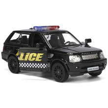 Buy 1:36 Diecast Toy model/Simulation Land Rover Evoque police Educational Pull Back Car children's gift collection for $9.68 in AliExpress store
