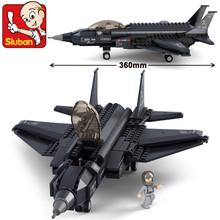 Compatible Legoe Sluban Helicopter Building Block Bricks Lightning ii Minifigures Toys For Children Plastic Gift Educational Set