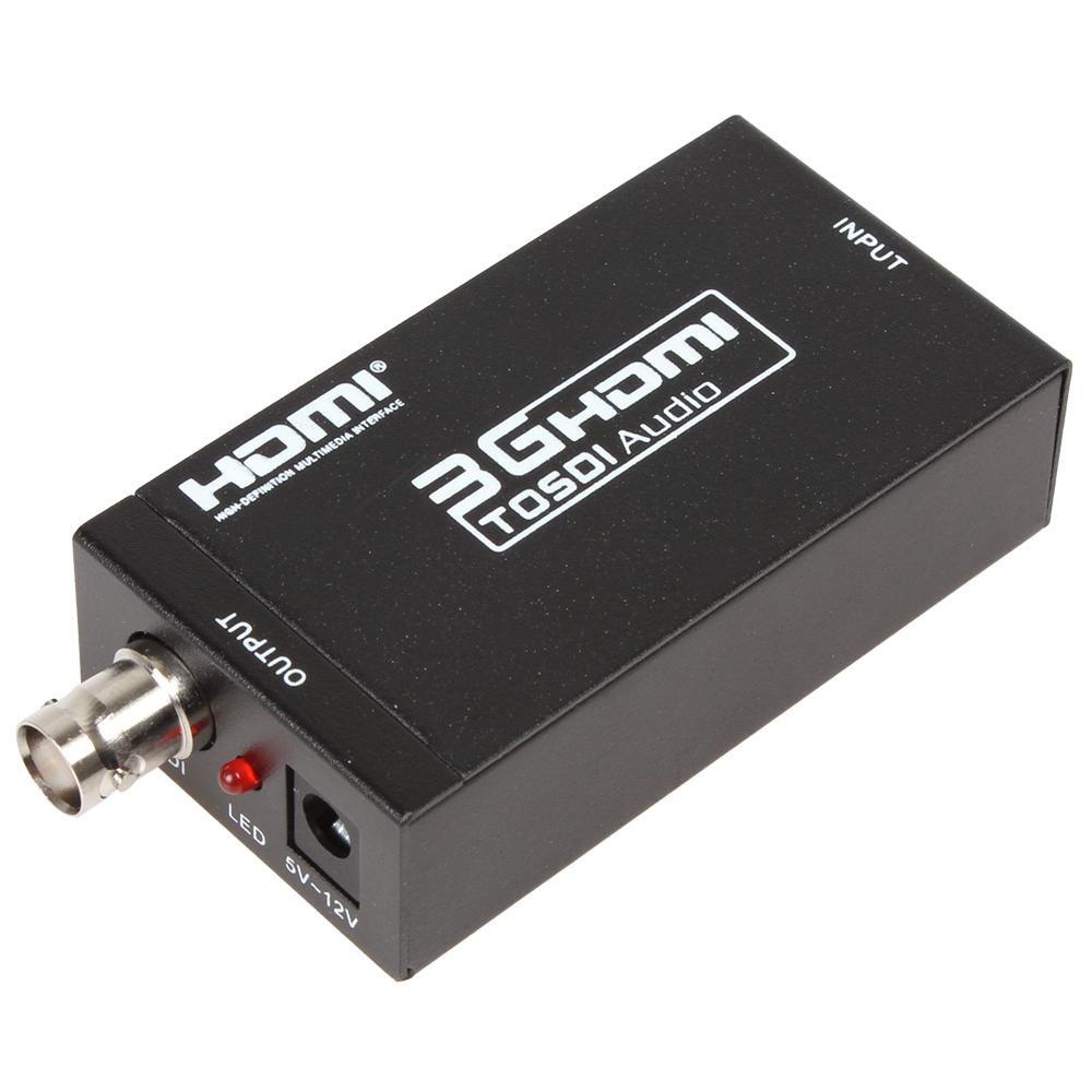 hot Mini 3G HDMI-SDI Video Converter Adapter HDMI Switch to 3G / HD / SD SDI Signals Supports 1080P / 720P(China (Mainland))