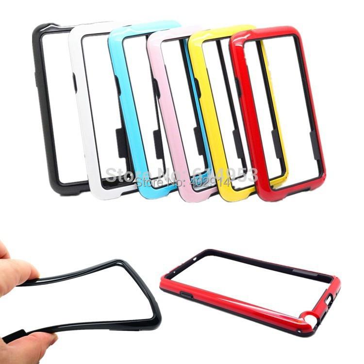 For Samsung Galaxy S5 Mini SV Mini  Frame Bumper Dual Color TPU +PC CASE COVER  20PCS/LOT