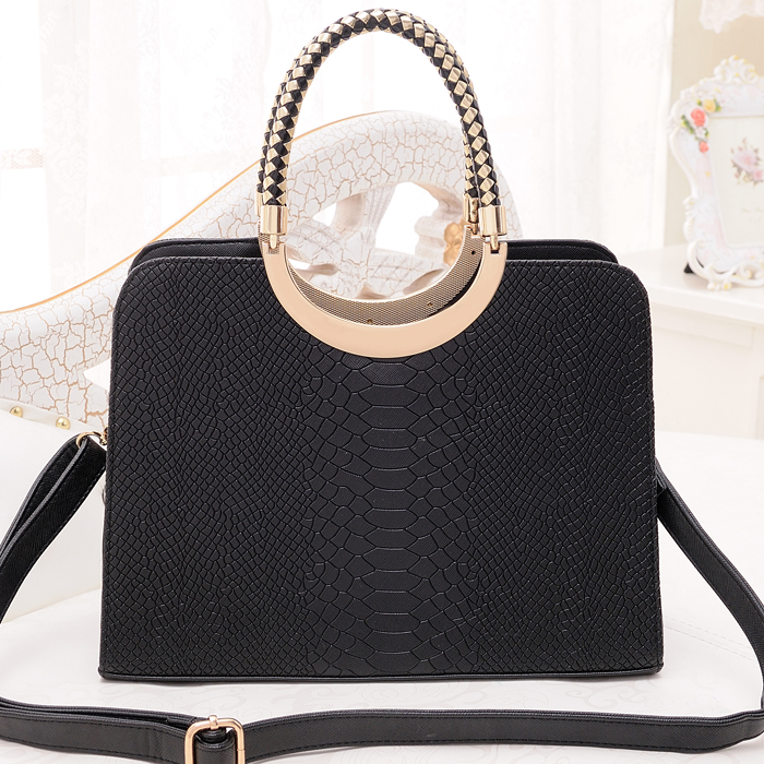 Gorgeous Womens handbag Crocodile bag lady elegant  shoulder bag ol mother gift totes dating all match tote bags<br><br>Aliexpress