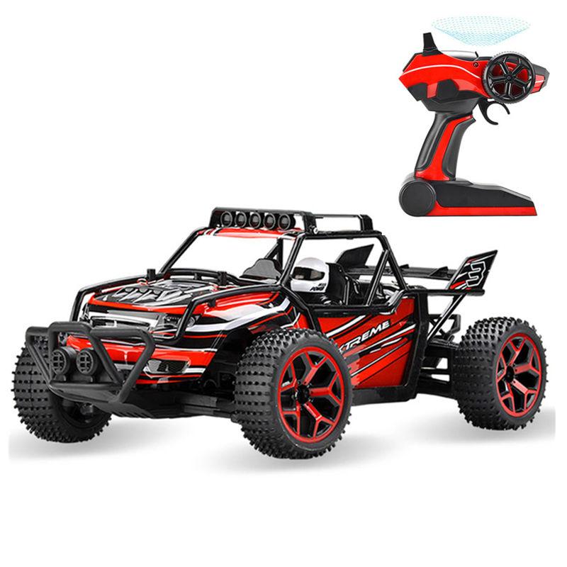 1:18 New Rc Car 4WD 20KM/H Speed off Dirt Bike Remote Control Car Stunt RC Drift(China (Mainland))