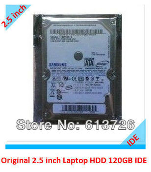 "Free Shipping,Original For Samsung Spinpoint 2.5"" 120GB IDE HM121HC PATA 5400rpm 8M Laptop Hard Disk Drive HDD"