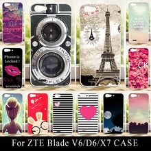 Buy ZTE Blade V6 D6 X7 Case Soft Silicone Colorful Printing Drawing Transparent Plastic Phone Cover tpu mobile Phone Cases for $2.30 in AliExpress store