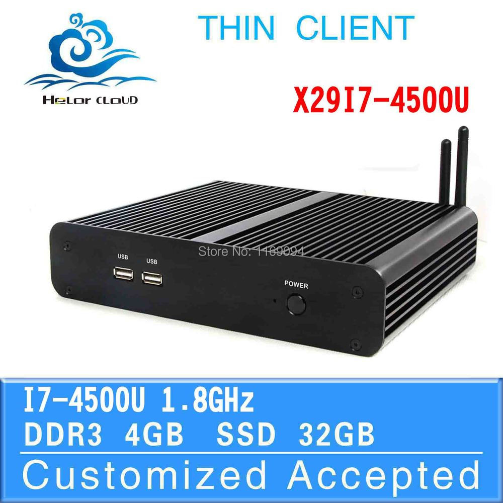 smaller space, energy small pc mini pc board win8 mini pc X29-I7 4500U support HTPC(China (Mainland))