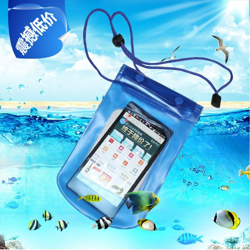 New PVC Underwater Diving Swimming Waterproof Phone Bag Case For Samsung Galaxy S5 S3 S4 Pouch For iPhone 4 5 6 4S 5S 5C(China (Mainland))