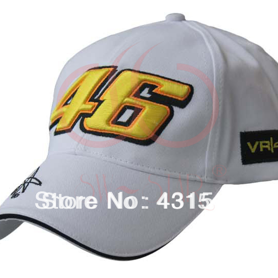 MOTO.GP Rossi 46 embroidered baseball caps 4 colors avaliable, baseball cap sports car racing hat hat casual hat game C27(China (Mainland))