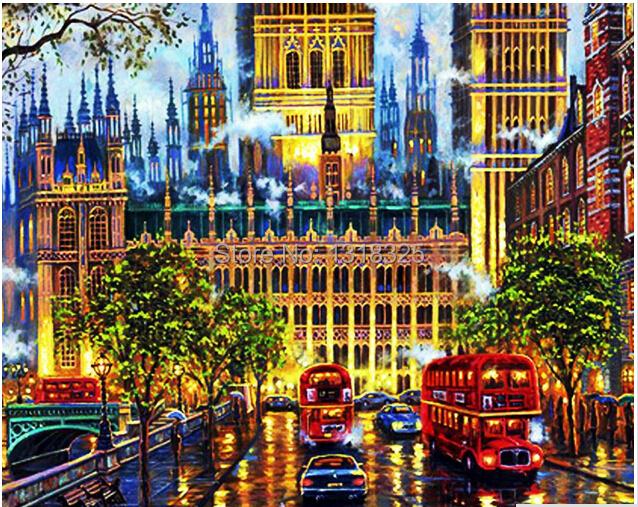 Алмазная вышивка лондон