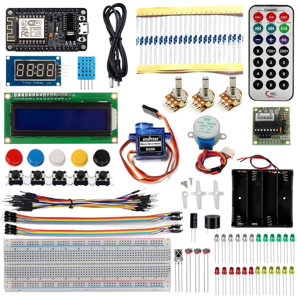 IOT NODEMCU Starter Kit MQTT WIFI Internet of Things programming learning Suite with ESP8266(China (Mainland))