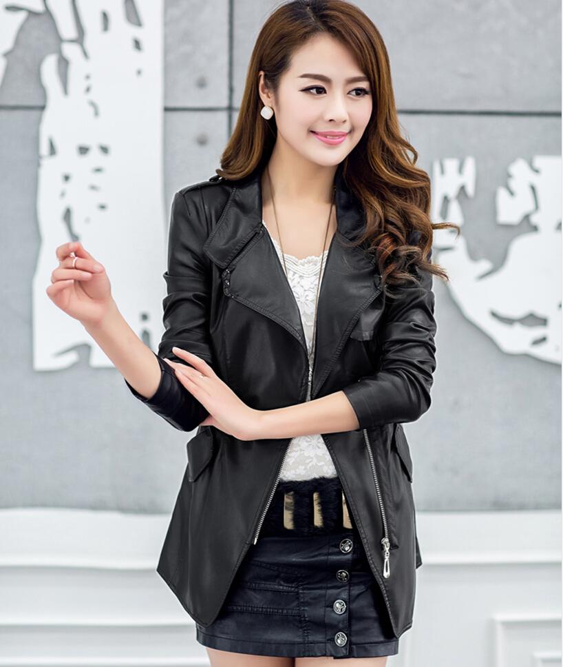 Женская одежда из кожи и замши OEM M-2XL женская одежда из кожи и замши oem s m l xl