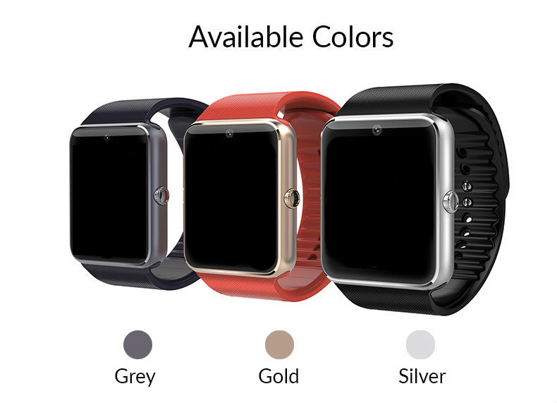 2015 Newest Wear Bluetooth Smart Health Phone Watch With Sim Card Smartwatch For Apple Samsung Gt08 Wearable Device Phone<br><br>Aliexpress