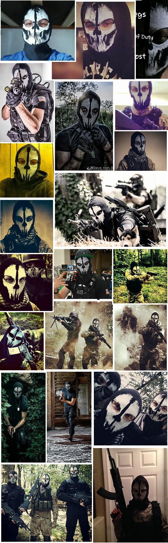 Coon Black Ghost Mask Skull Bike Cycling Motorcycle Ski Fishing Balaclava