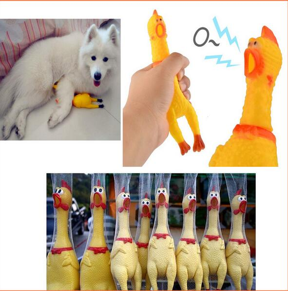 Hot Sale Funny Vent Long Neck Chicken Shrilling Chicken Sound Squeeze Screaming Toy Kid Children Toy Baby Toy<br><br>Aliexpress