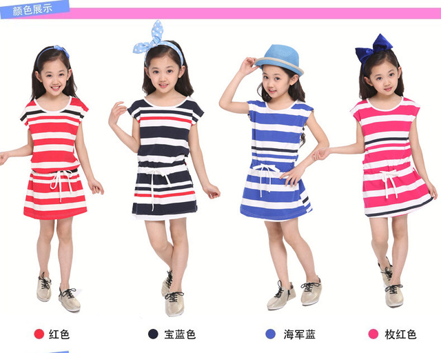 Colour 2015 Summer 2015 New Girl's Summer Dress,4