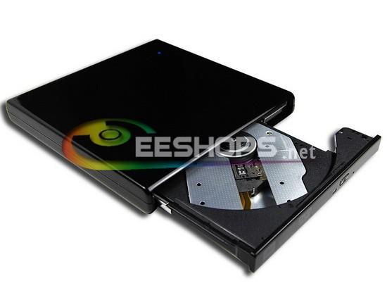 New Best for Dell HP Gaming Notebook PC USB 2.0 External Dual Layer 8X DVD RW DL RAM 24X CD-RW Burner Portable Drive Piano Black(Hong Kong)