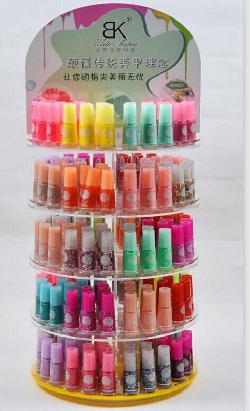 60 colors 7ml Bk water based peel off nail polish - DIY Makeup and Nails