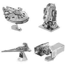Buy SAINTGI star wars Etching Trek Space ship 3D metal model Enterprise NCC1701 action figure DIY collection model kids toys for $6.77 in AliExpress store
