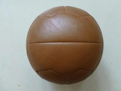 Soccer Ball Football Size #5 British Retro Old School League High Quality Leather Outdoor Play(China (Mainland))
