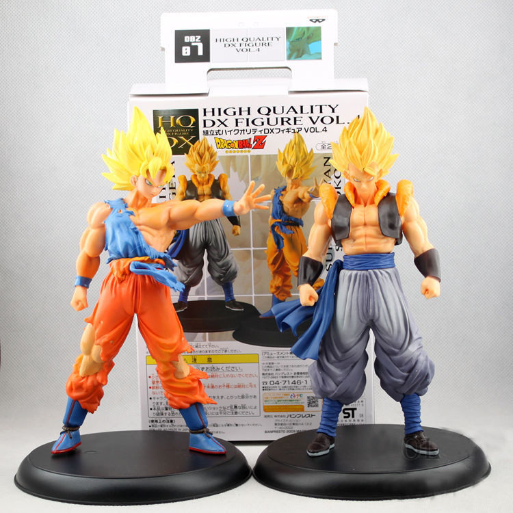 Free Shipping Dragon Ball 2pcs/set Wukong Saiyan Goku Action Figure Toys With Original Box Anime Toy Gifts For Kids<br><br>Aliexpress