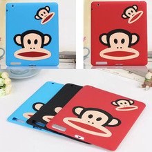 Anti-knock silicon double monkey tablet PC for 7.9 inch Apple iPad mini 3 2 1 accessory protective case shell skin back cover(China (Mainland))