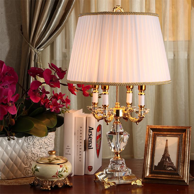 Online kaufen gro handel kristall tischlampen f r - Schlafzimmer tischlampe ...