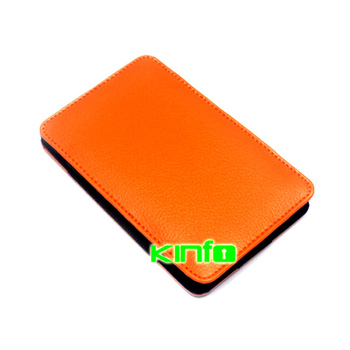 """Leather External 2.5"""" HDD Protective Portable Sleeve Case hdd enclosure box 0.32-LB2502"""