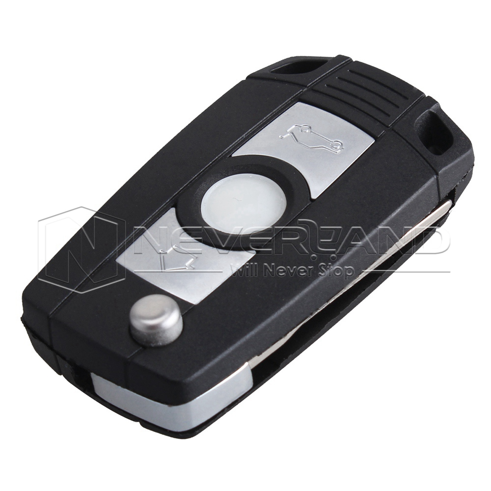 Replacement Shell Remote Flip Folding Key Fob Case For Bmw