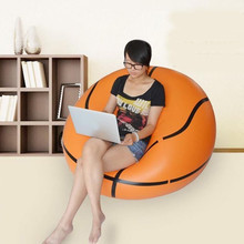 Basketball Lounge Rest Inflatable Sofa Chair Couch Bean Bag Ball chair(China (Mainland))