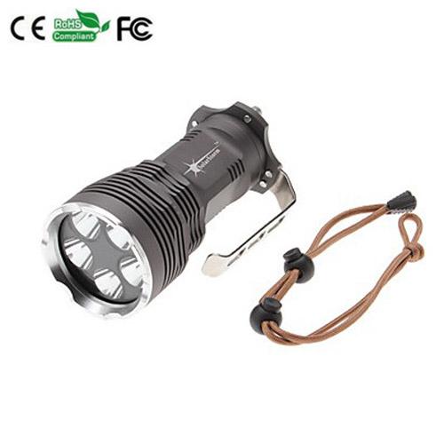 7000LM Lumen 6 x CREE XM-L T6 Flashlight Camping flashlight portable flashlight Torch xml t6 led Flashligh light