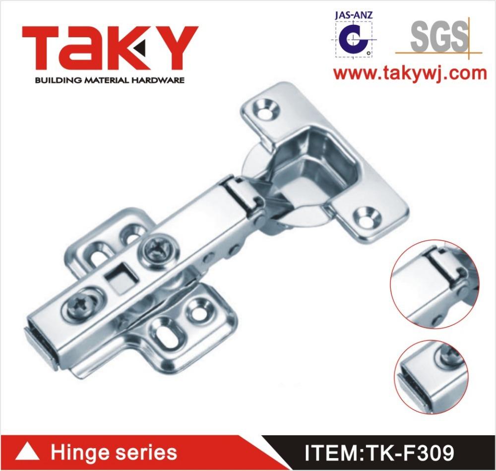 TK-F309 furniture cabinet soft closing concealed steel hinge(China (Mainland))