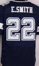 MEN 'S 21 Ezekiel Elliott 82 Jason Witten 88 Dez Bryant Tony Romo 22 emmitt smith elite white navy blue 100% Stitched jersey(China (Mainland))
