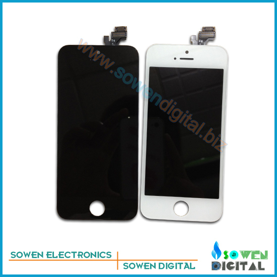 For iPhone 5 5G LCD Display+Touch Screen digitizer+Frame assembly,All ,,100% gurantee,Best quality