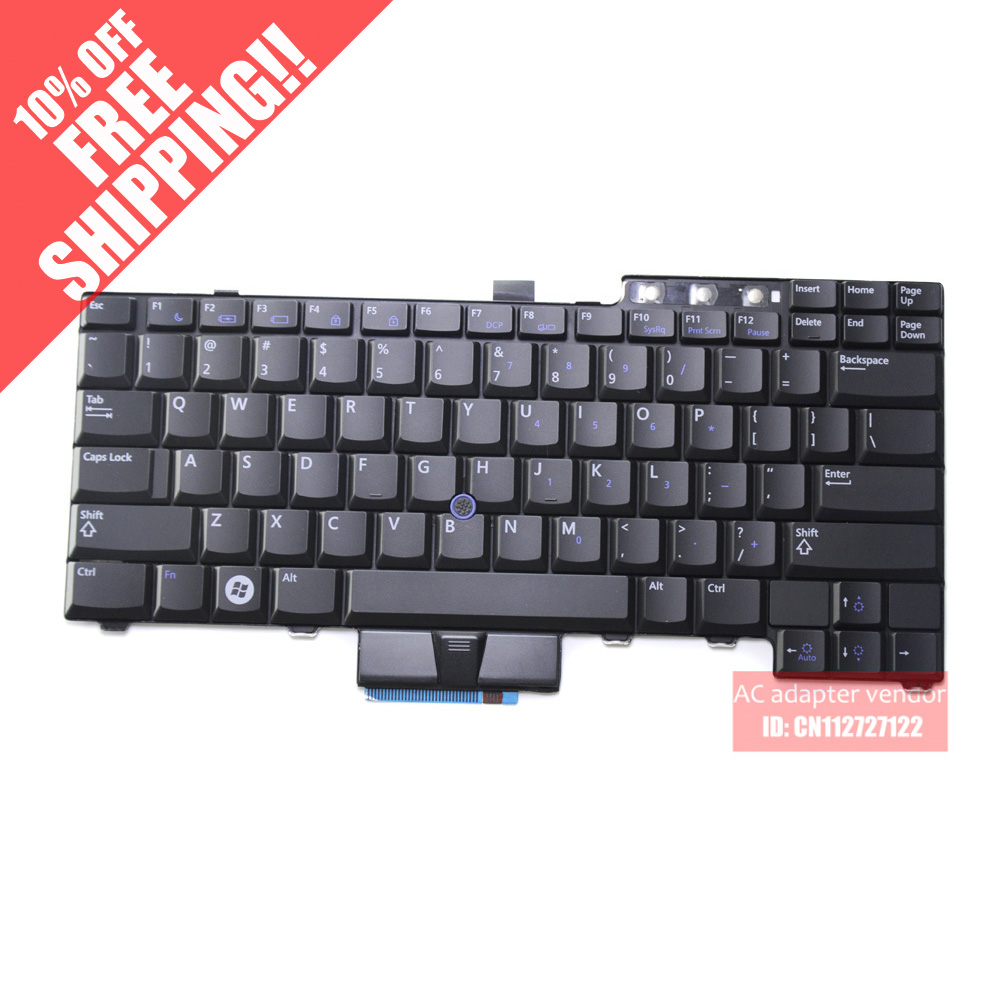 New Replace FOR DELL FOR DELL E6400 E6410 E6500 small built-in keyboard English Enter(China (Mainland))