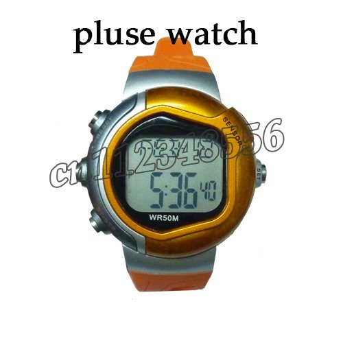 2pcs/lot Calorie Burned Heart Rate Pulse Sport Watch Wrist watch freeshipping Wholesales!