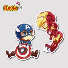 Buy Bevle 9277 Iron Man Captain America Waterproof Stickers Laptop Luggage Fashion Car Graffiti Cartoon 3M Sticker for $1.50 in AliExpress store