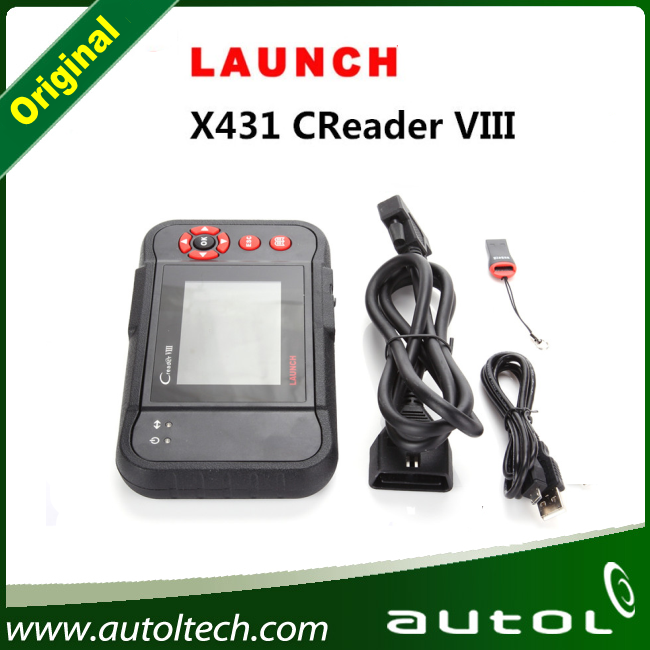 Launch X431 Creader VIII CRP129 OBDII OBD2 Auto Code Reader ABS ENG AT SRS Oil Reset Brake Scanner(China (Mainland))