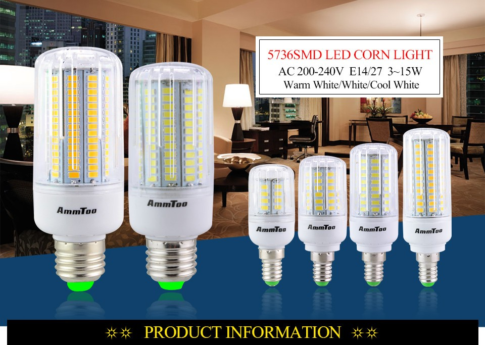 SMD 5736 Led Light Bulb01