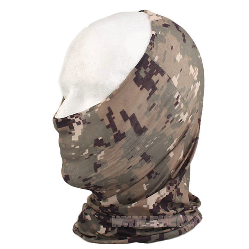 Fast dry Multi-funtiona mask Scarf military camouflage mesh scarves AOR1 AOR2 Multicam A TACS atfg EM6628 Apparel Accessories<br><br>Aliexpress