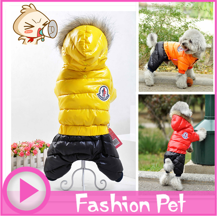 Newest Fashion Pet Dog Winter Coat Clothes Clothing 4 Clothes Best Clothing for Pet Dog Clothes Super Warm XS S M L XL 2XL(China (Mainland))