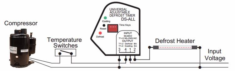 Комплектующие для холодильников 10pcs/lot DS 6/24
