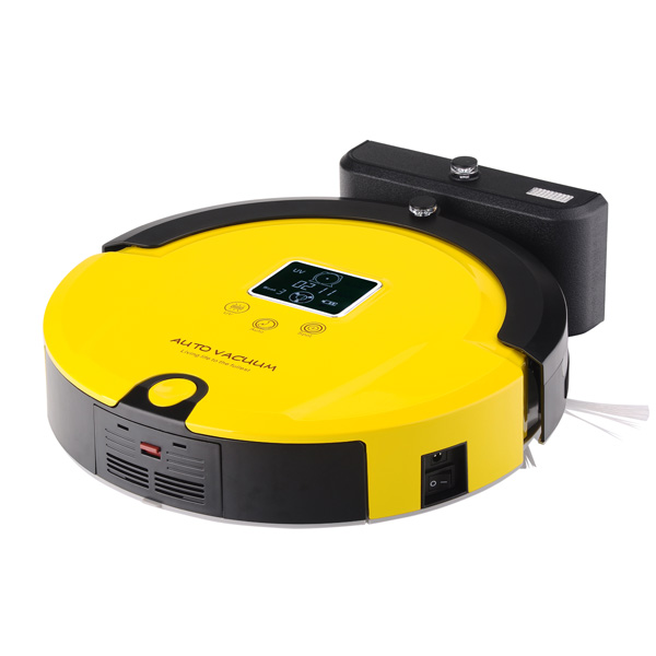 (Ship from RU,CN,USA) Free Shipping Newest High Brand Gift Auto Robot Vacuum Cleaner Long Working Time And Sonic Wall Low Noise(China (Mainland))